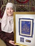 Aminah assilmi and eid stamp